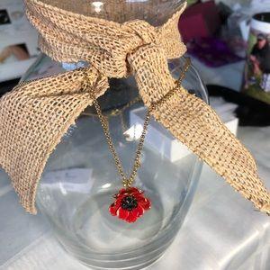 Kate Spade Poppy Necklace